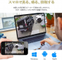 Ctronics 防犯カメラ 500万画素 30倍光学ズーム 屋外 監視カメラ wifi 防水パンチルト 音声通話 ヒューマン検知 動体検知 追跡機能 メール警報 暗視機能 iOs/Android/Windows対応 最大128GMirco SDカード対応 日本語説明書アプリ